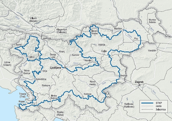 Slovenian Mountain Bike Route (STKP)