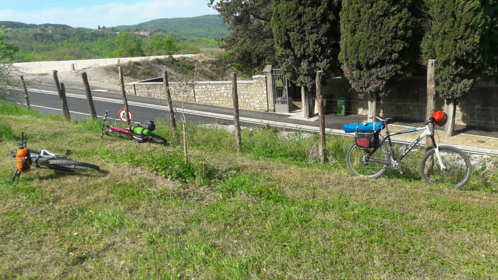 Bikepacking Parenzana