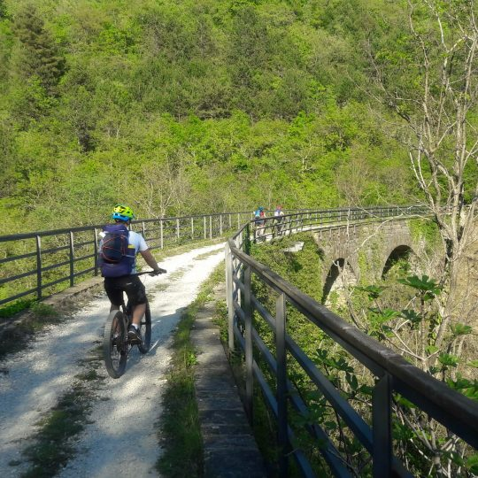 Bikepacking Parenzana trail