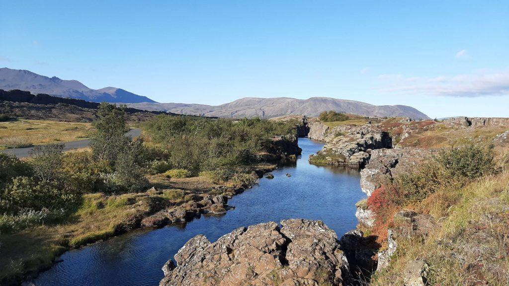 Þingvellir tectonic plates movement