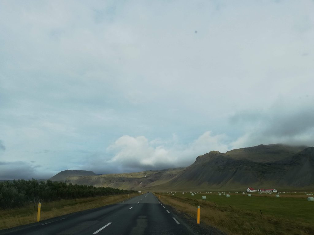 Main roads in Iceland